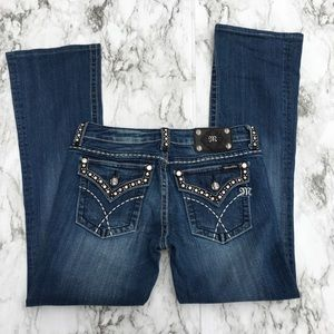 Miss Me JW5087B5 Boot Cut Jeans